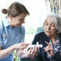 Old lady in nursing home prescribed antipsychotics