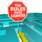 The rules have changed sign