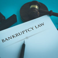 Papers that read bankrupty law