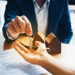 Keys to an estate handed over to an executor or estate administrator